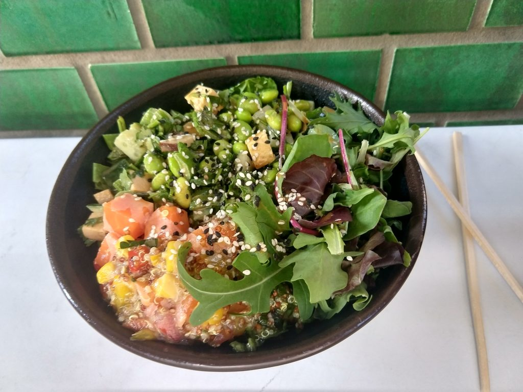 vegan tour berlin poké bowl clean eating