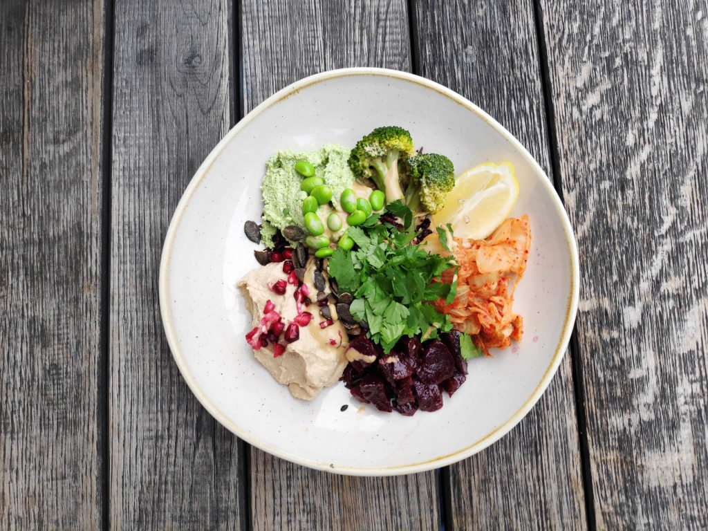 probiotic vegan bowl at Daluma Berlin
