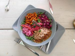 vegan bowl - vegane Tour Berlin Kreuzberg